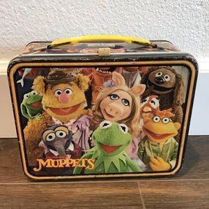 Handbags - Muppets antique metal lunchbox miss piggie Kermit